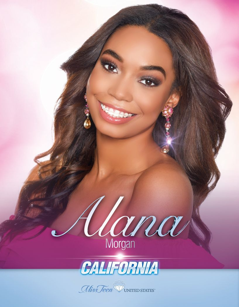 Alana Morgan Miss Teen California United States - 2020