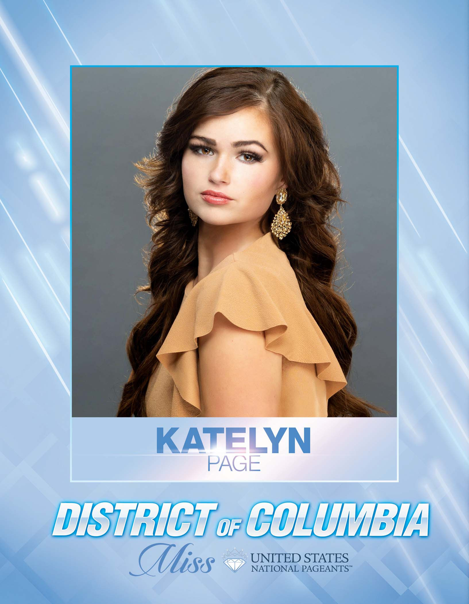 Katelyn Page Miss District of Columbia United States - 2021