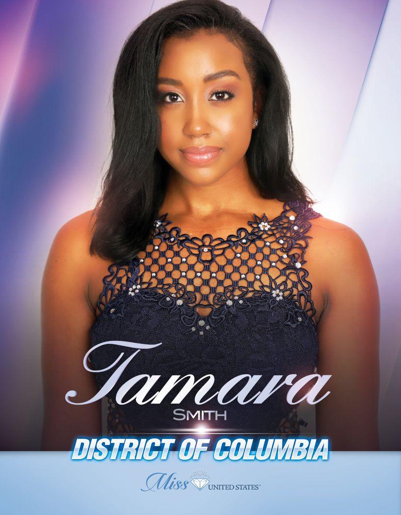 Tamara Smith Miss District of Columbia United States - 2020
