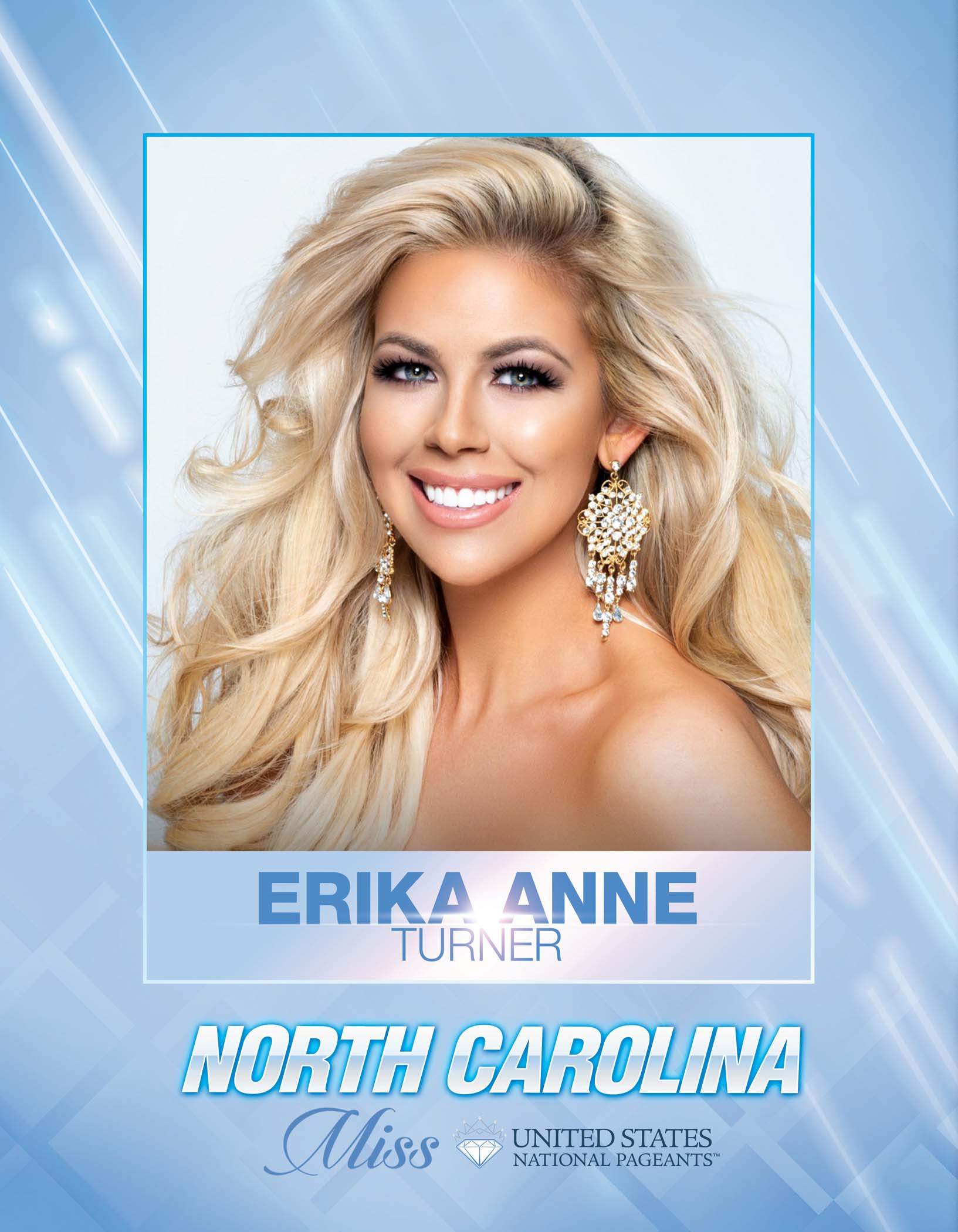 Erika Anne Turner Miss North Carolina United States - 2021