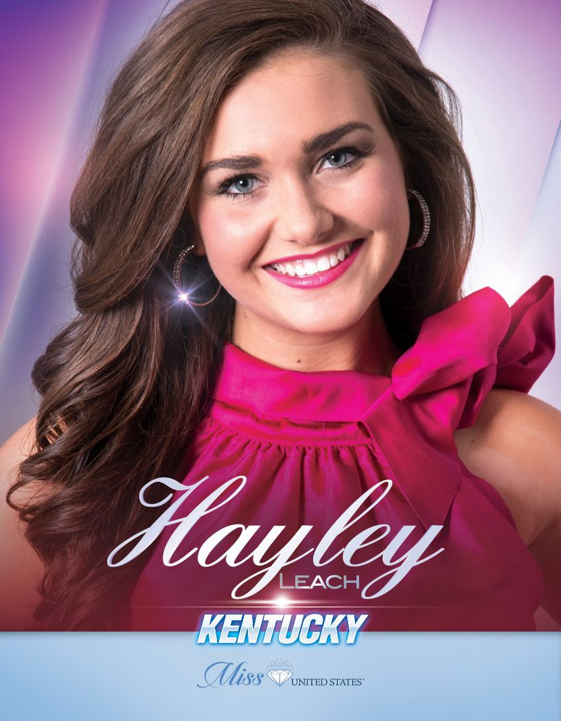 Hayley Leach Miss Kentucky United States - 2020