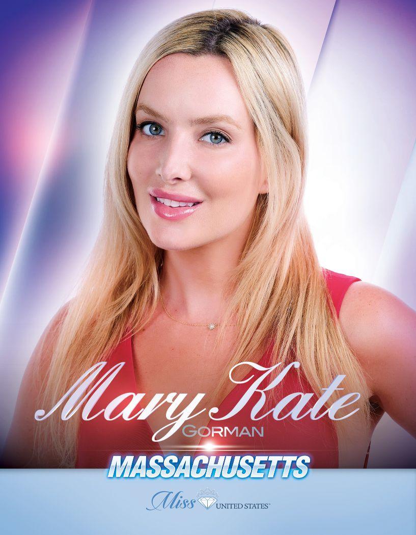 Mary Kate Gorman Miss Massachusetts United States - 2020