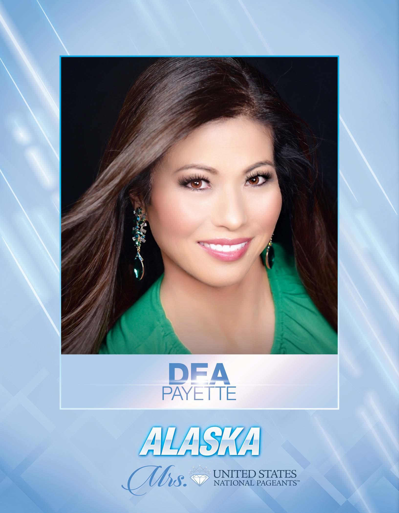 Dea Payette Mrs. Alaska United States - 2021
