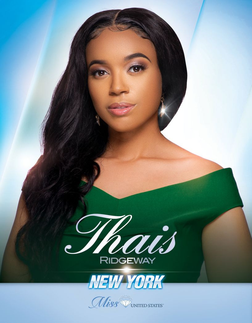 Thais Ridgeway Miss New York United States - 2020