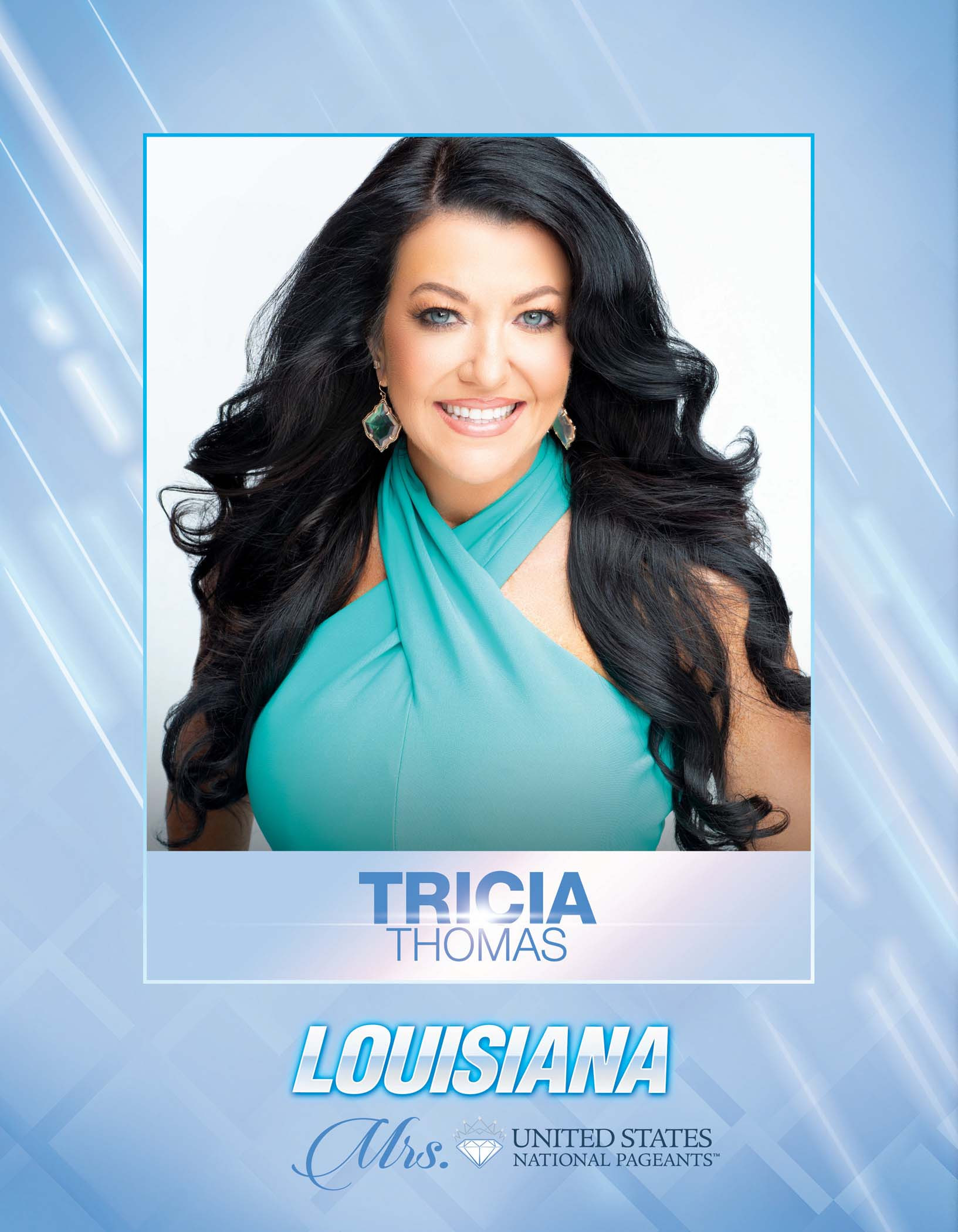 Tricia Thomas Mrs. Louisiana United States - 2021