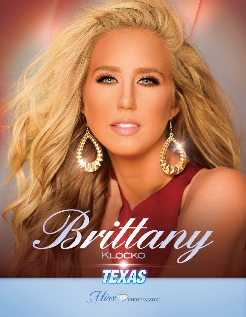 Brittany Klocko Miss Texas United States - 2020