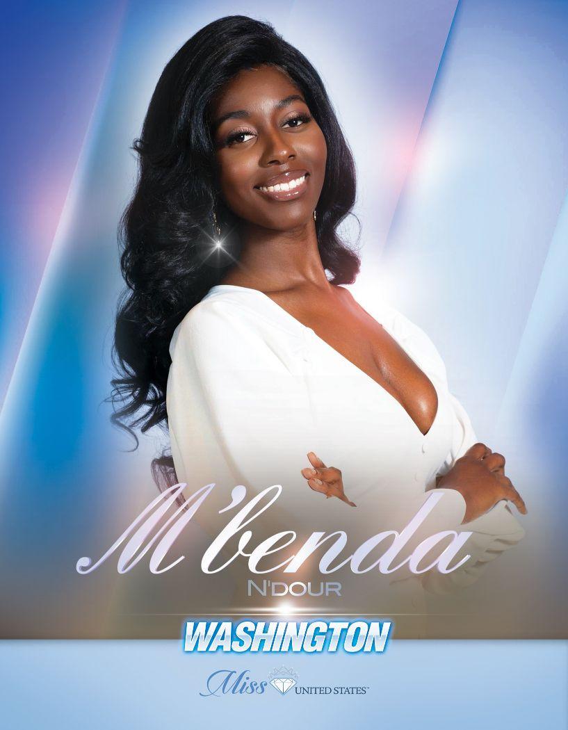 M'benda N'dour Miss Washington United States - 2020