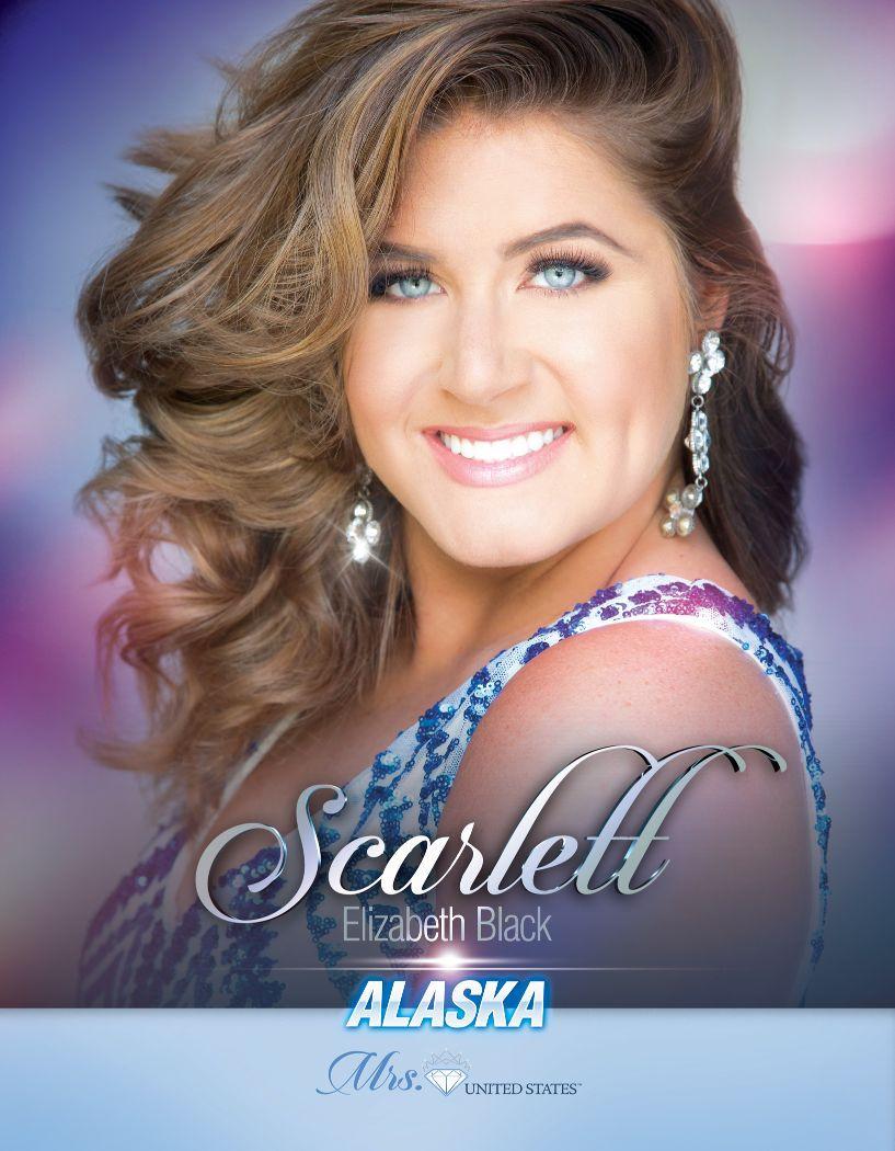 Scarlett Black Mrs. Alaska United States - 2020