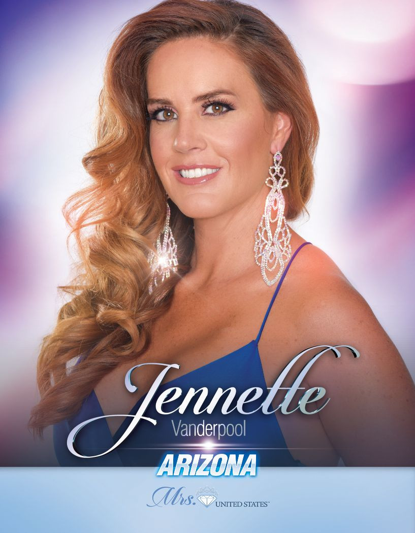 Jennette Vanderpool Mrs. Arizona United States - 2020