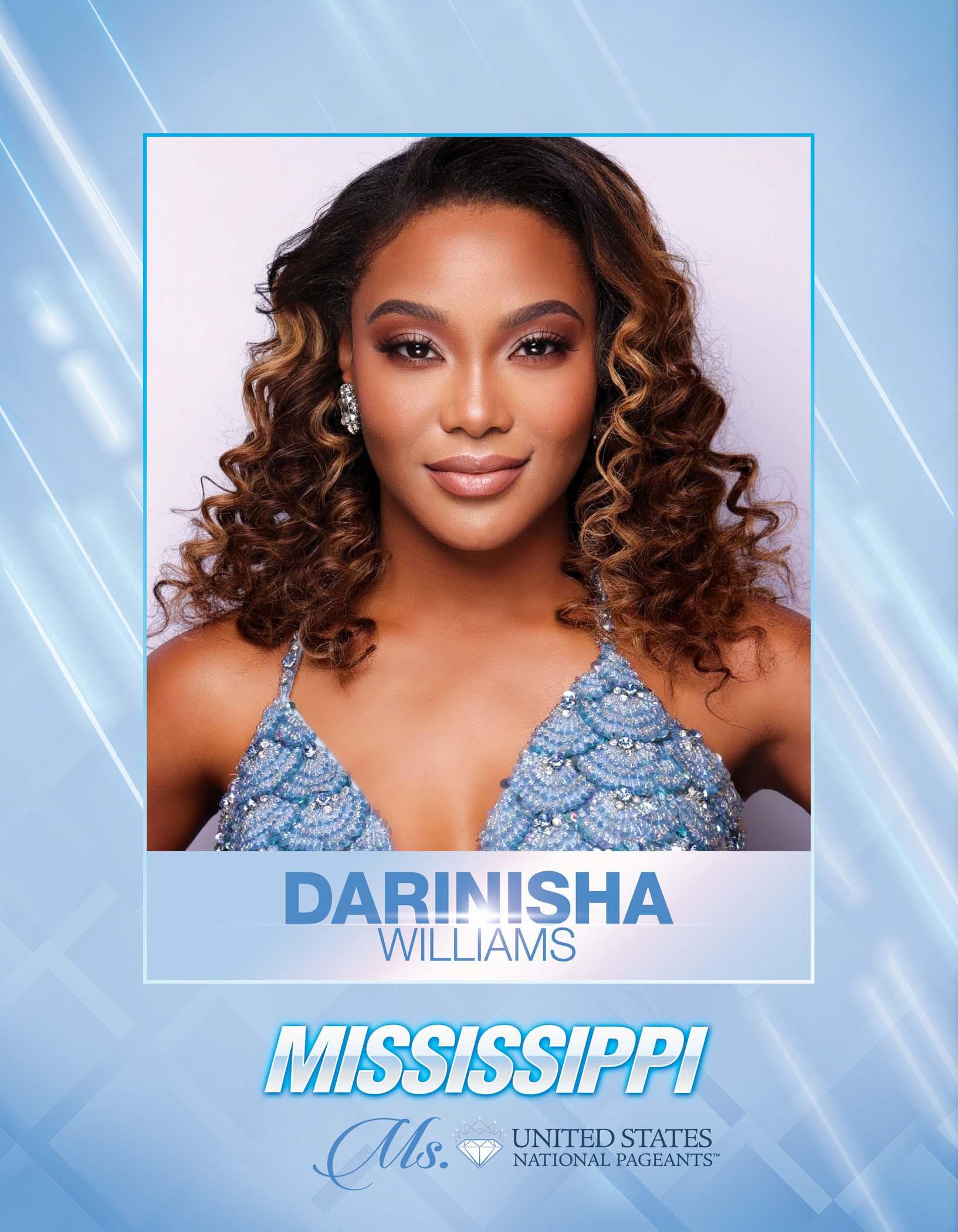 Darinisha Williams Ms. Mississippi United States - 2021