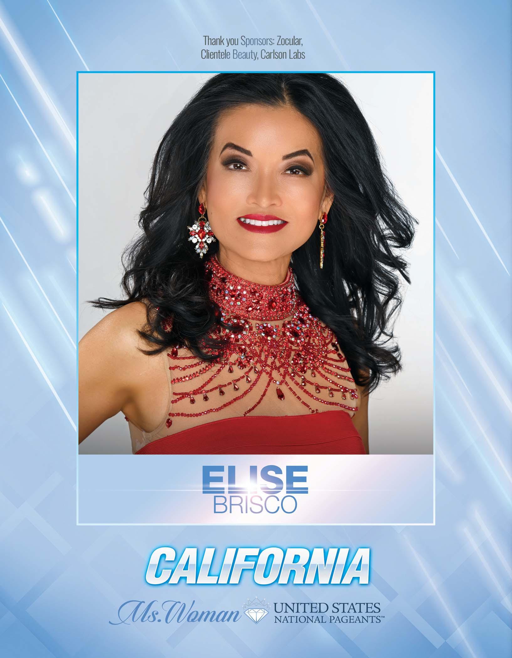 Elise Brisco Ms. Woman California United States - 2021
