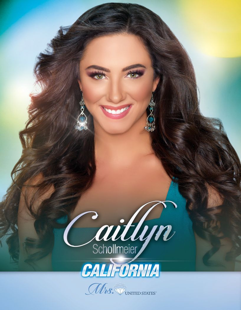 Caitlyn Schollmeier Mrs. California United States - 2020