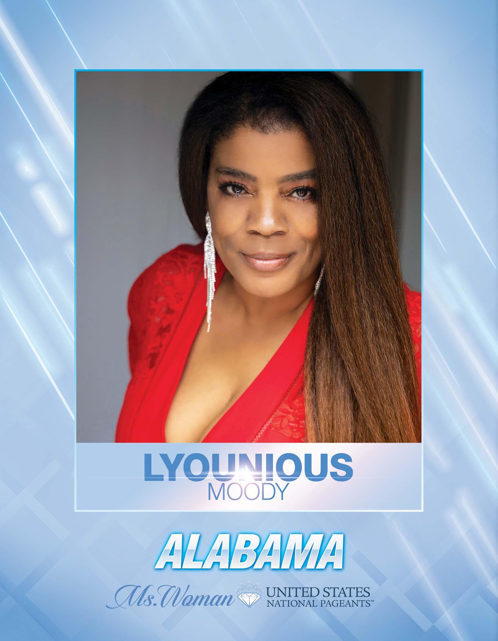 Lyounious Moody Ms. Woman Alabama United States - 2021