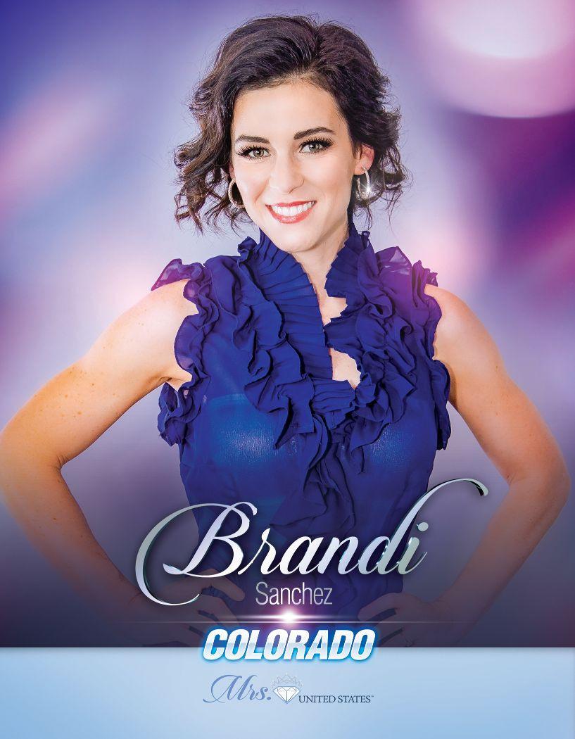 Brandi Sanchez Mrs. Colorado United States - 2020