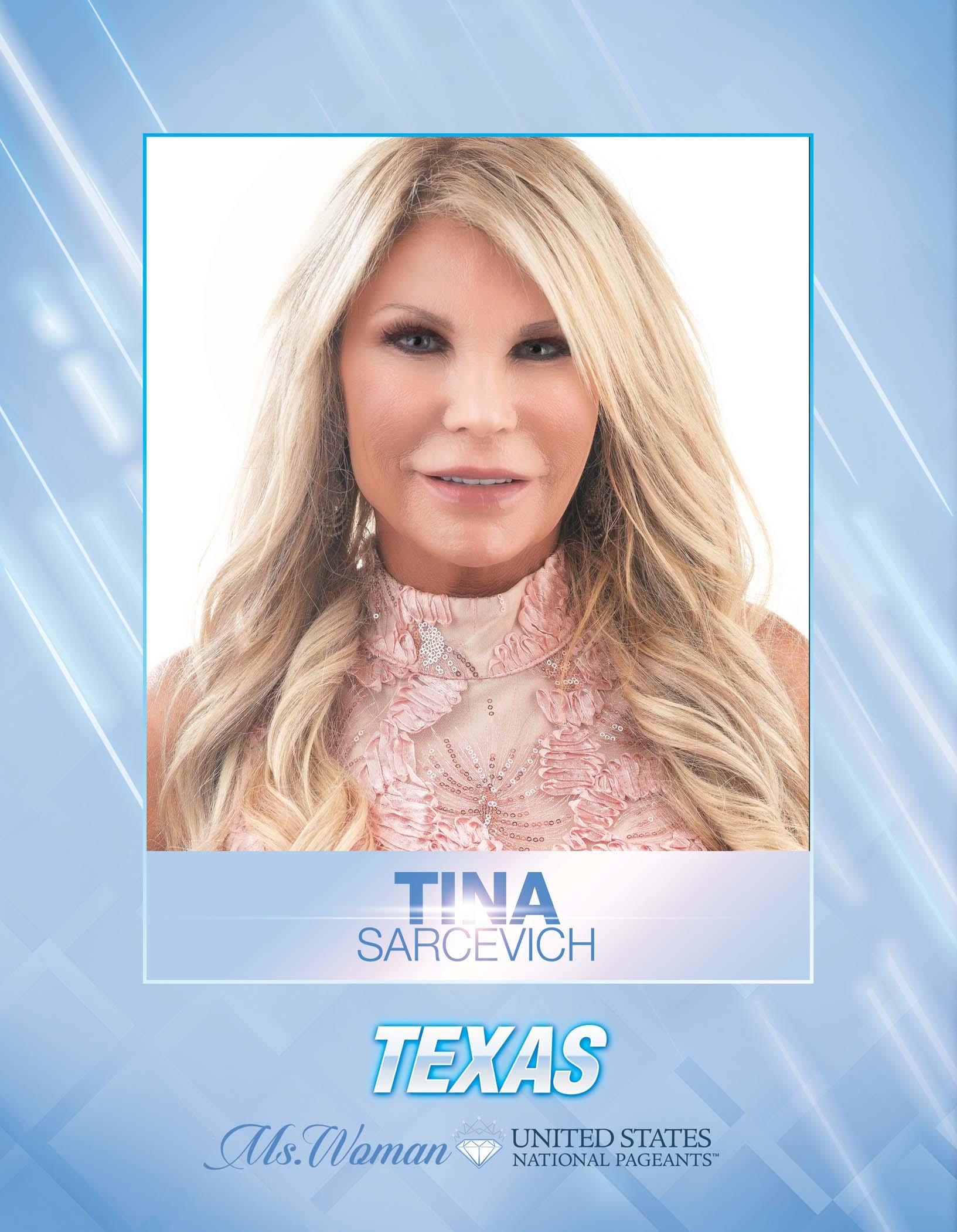 Tina Sarcevich Ms. Woman Texas United States - 2021