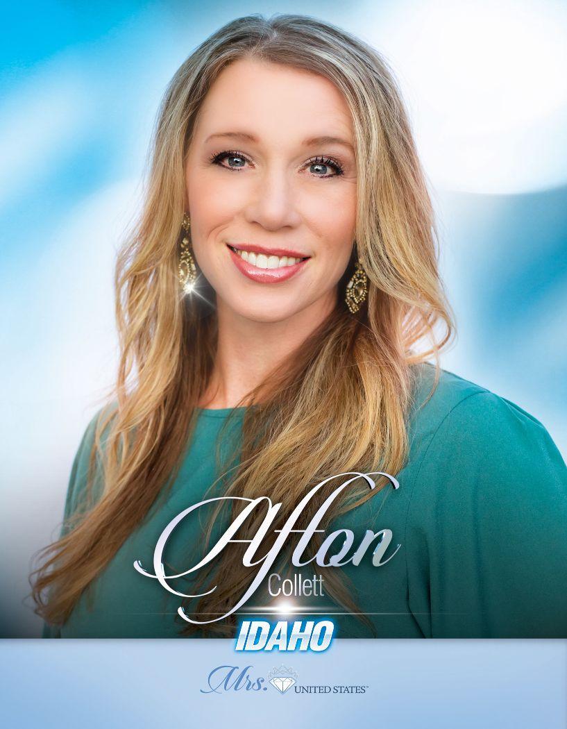 Afton Collett Mrs. Idaho United States - 2020