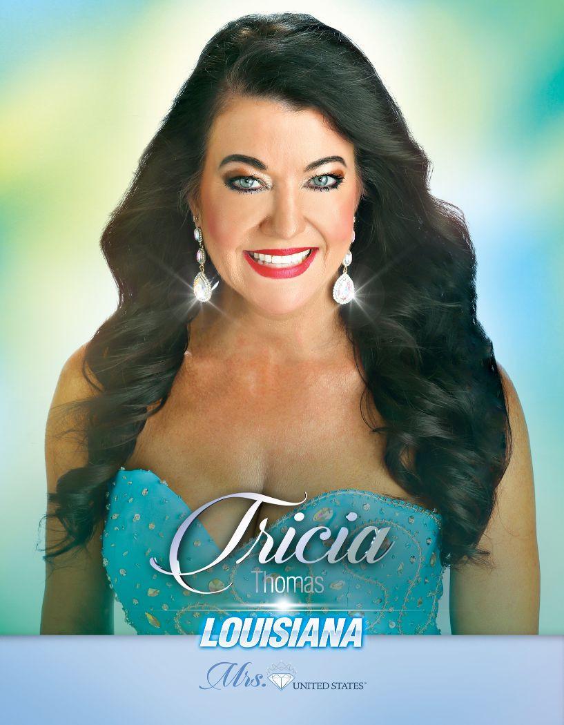 Tricia Thomas Mrs. Louisiana United States - 2020