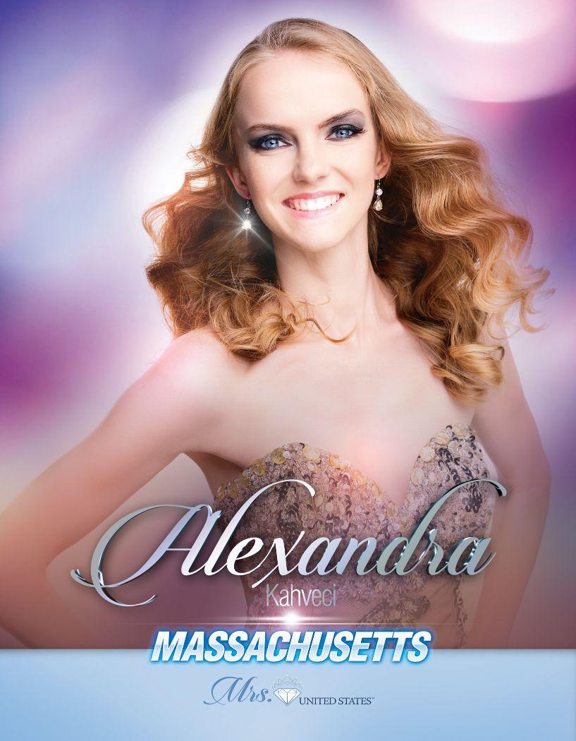 Alexandra Kahveci Mrs. Massachusetts United States - 2020