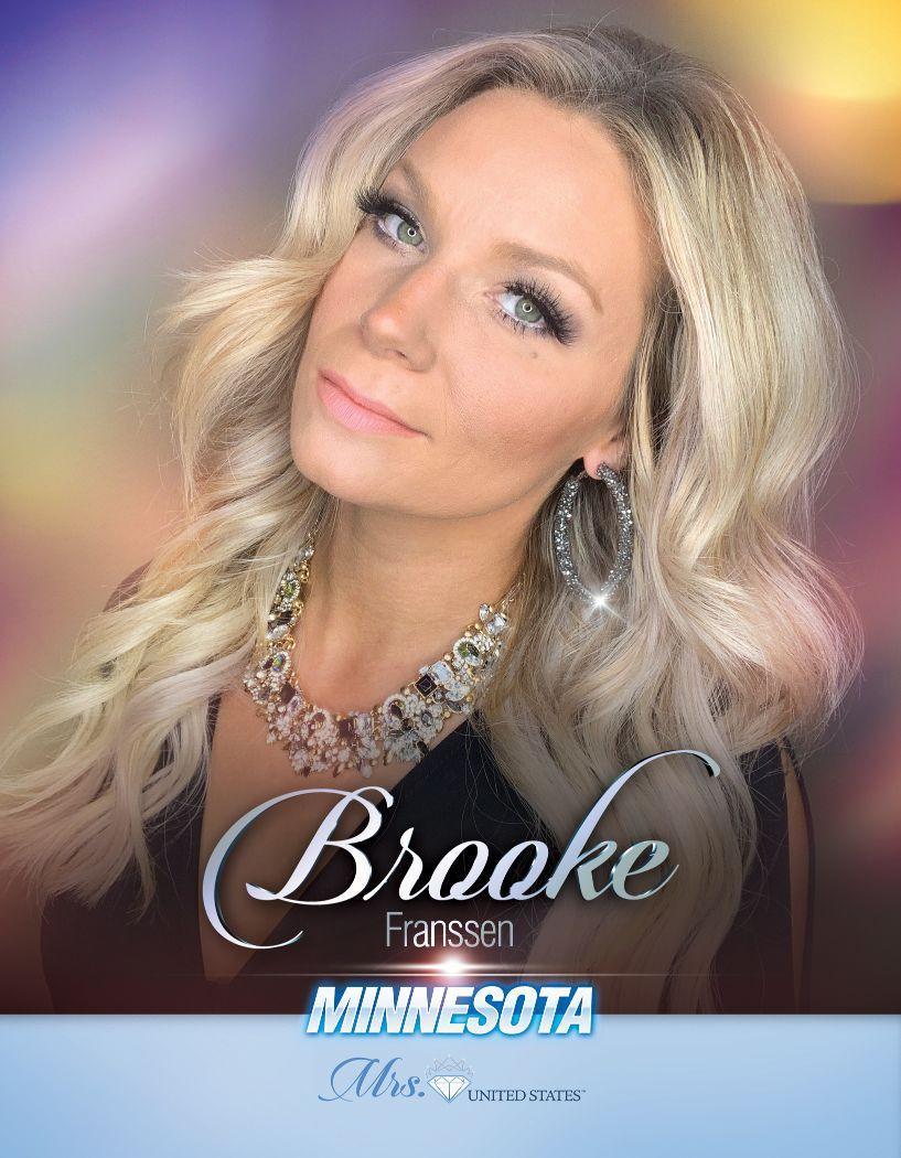 Brooke Franssen Mrs. Minnesota United States - 2020