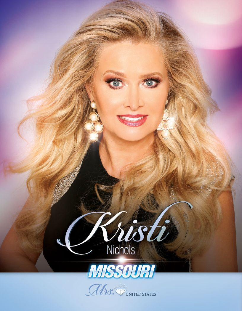Kristi Nichols Mrs. Missouri United States - 2020
