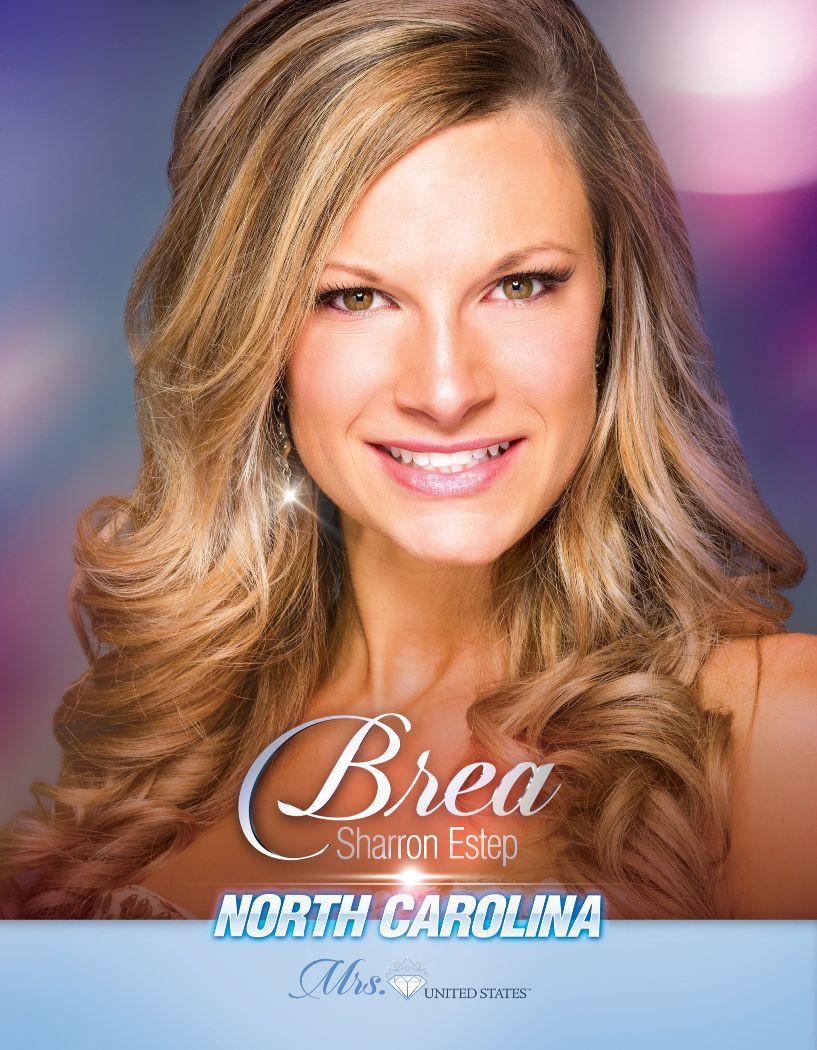 Brea Estep Mrs. North Carolina United States - 2020