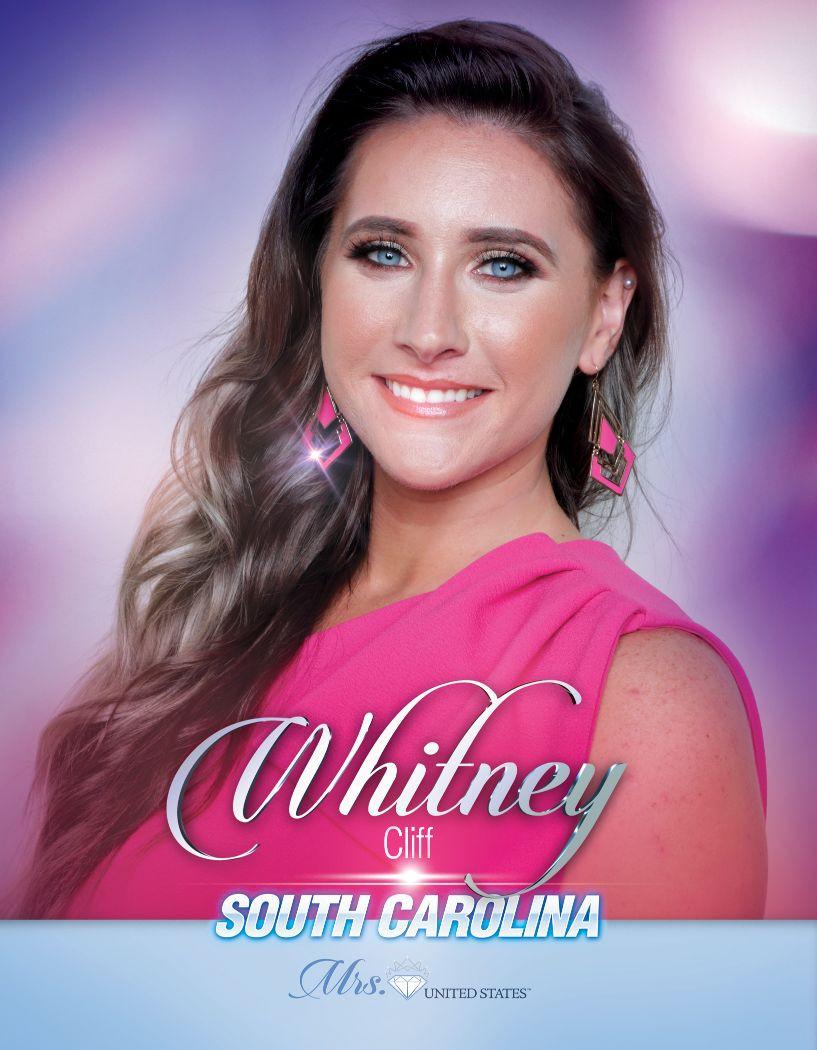 Whitney Cliff Mrs. South Carolina United States - 2020