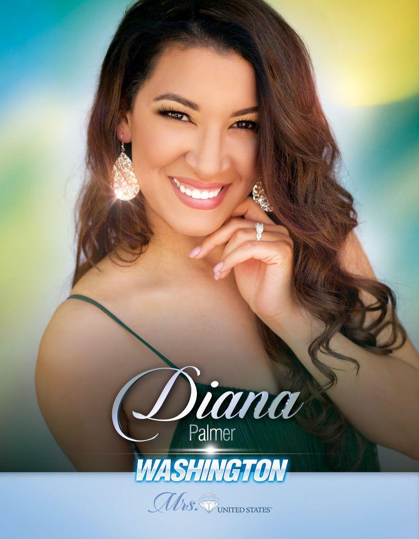 Diana Palmer Mrs. Washington United States - 2020