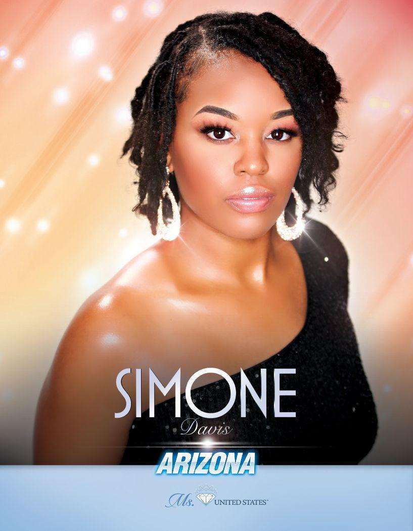 Simone Davis Ms. Arizona United States - 2020