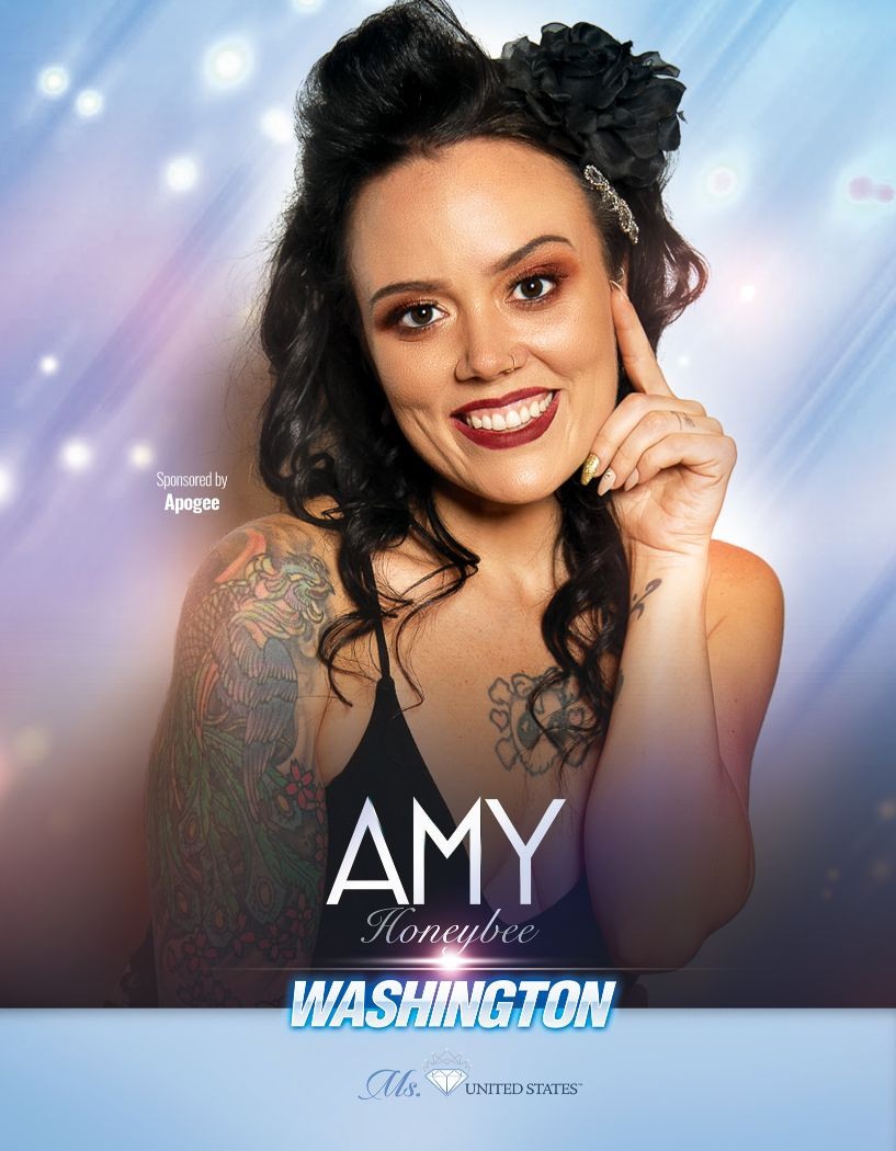 Amy Honeybee Ms. Washington United States - 2020
