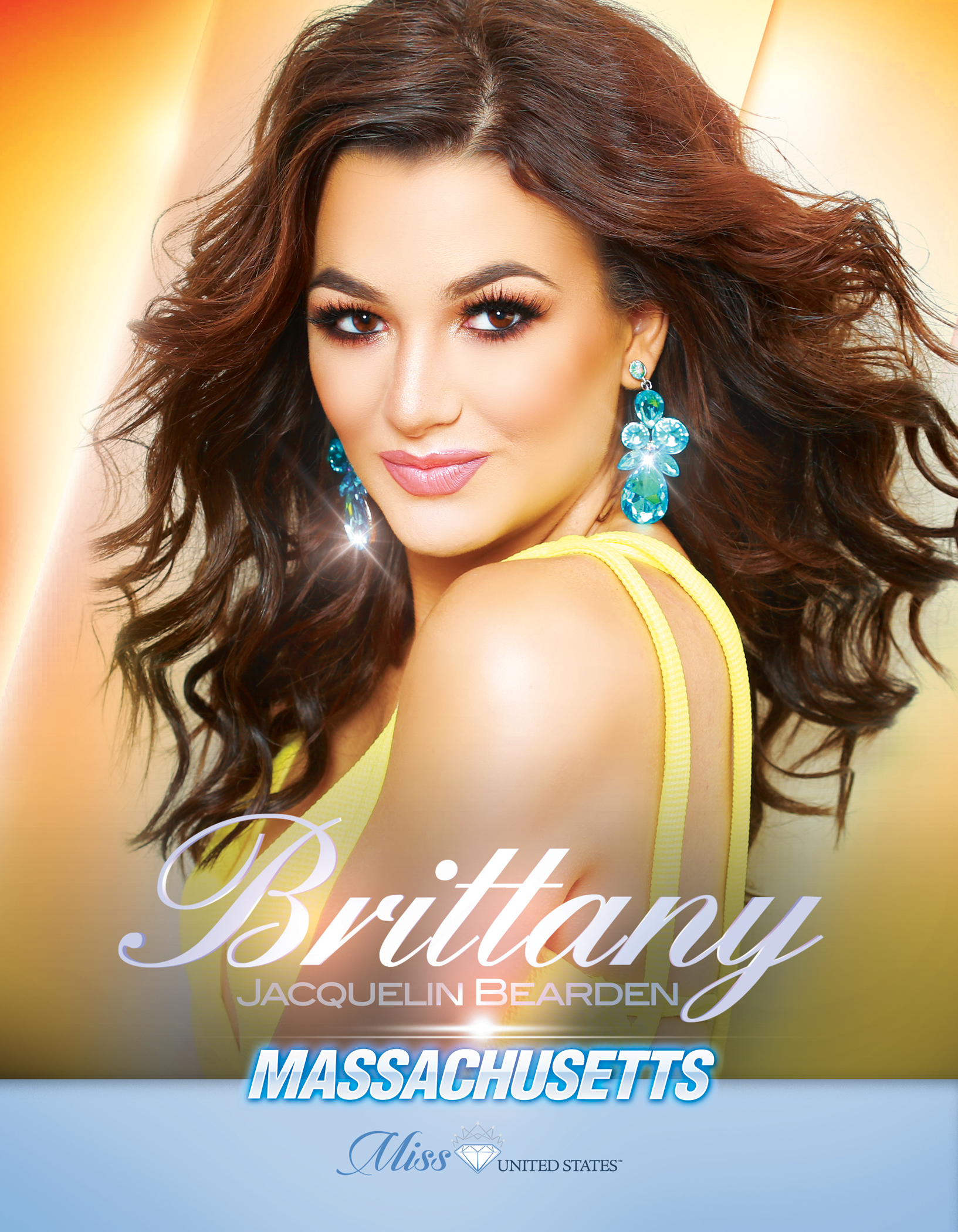 Brittany Bearden Miss Massachusetts United States - 2019