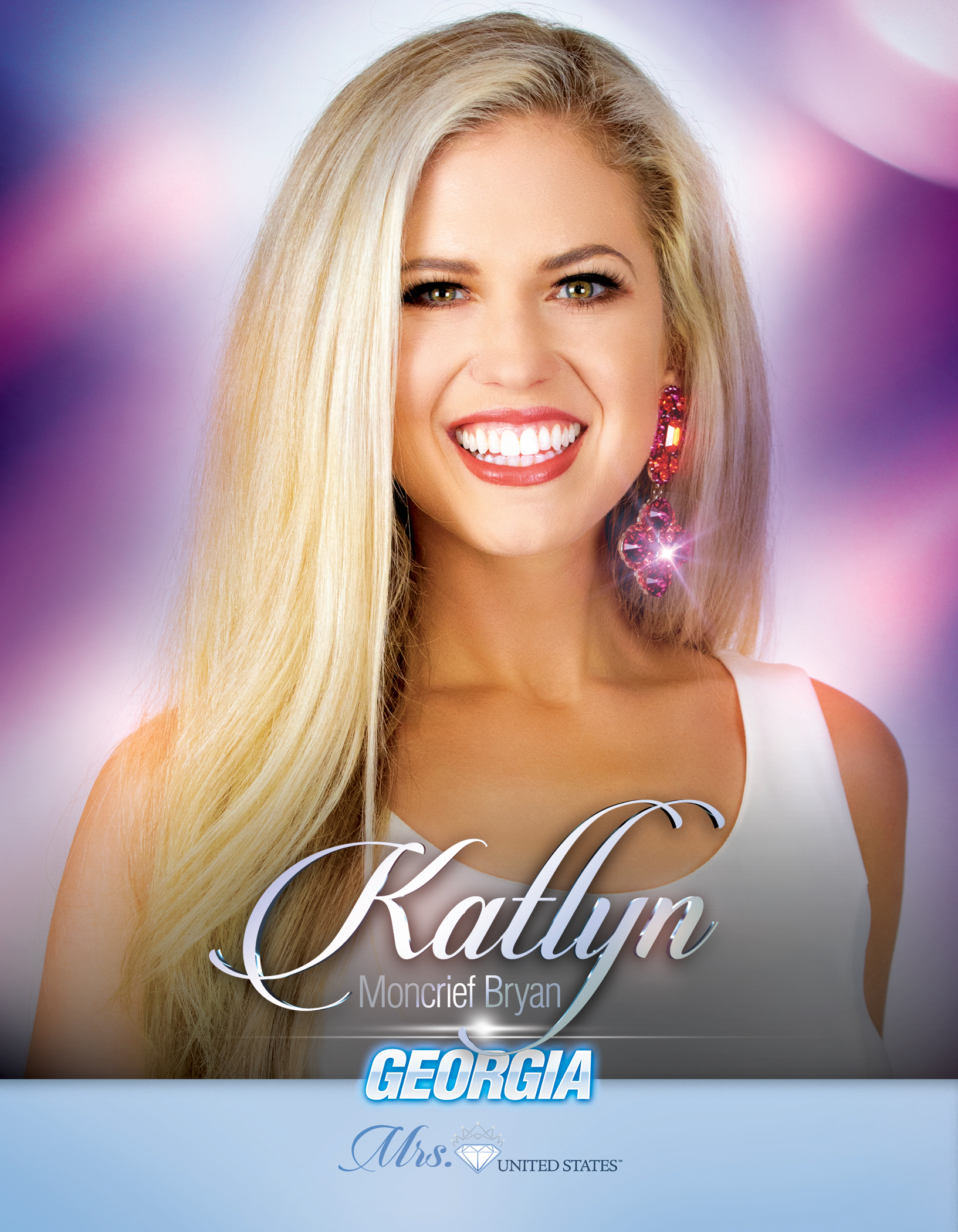 Katlyn Moncrief Bryan Mrs. Georgia United States - 2019