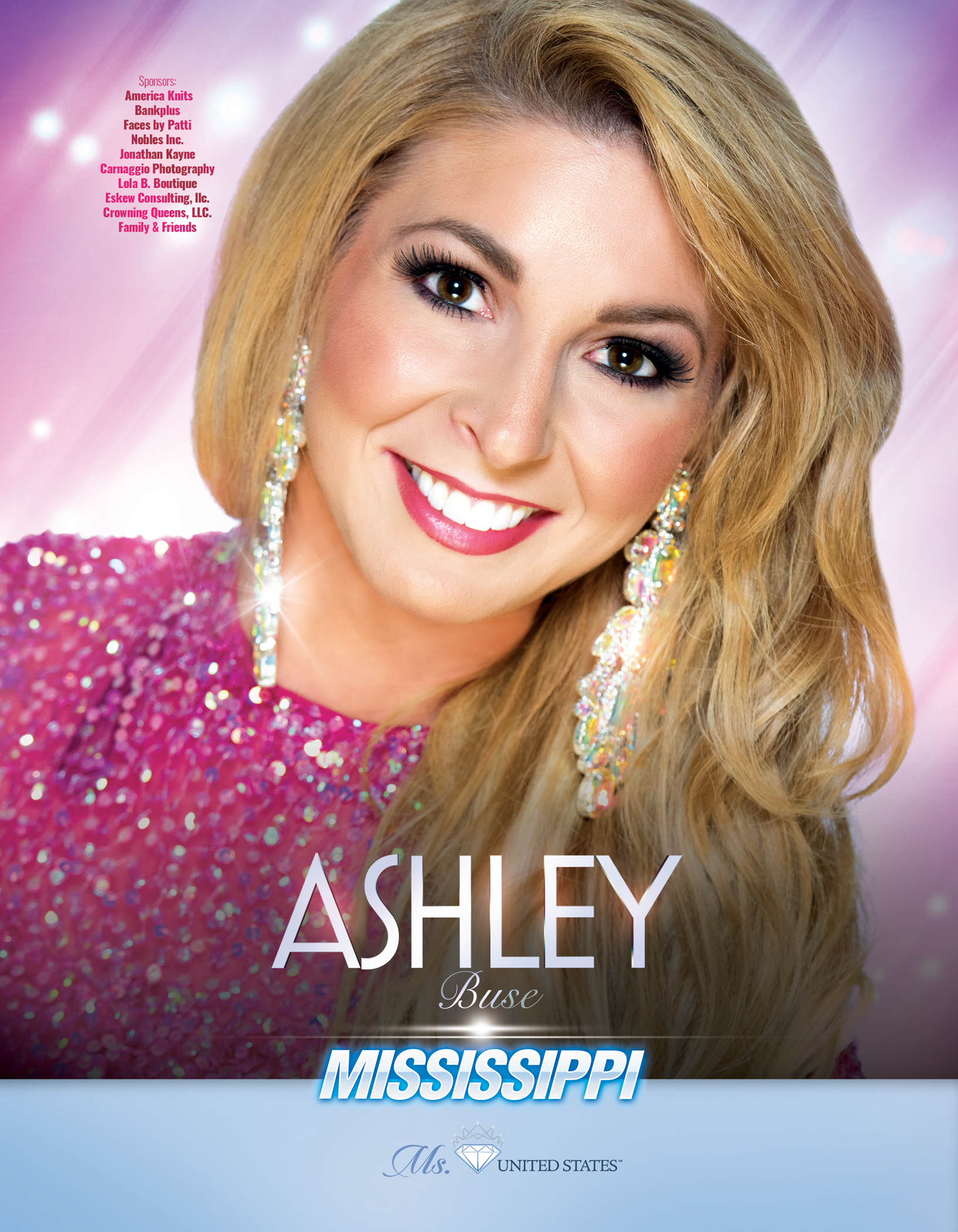 Ashley Buse Ms. Mississippi United States - 2019