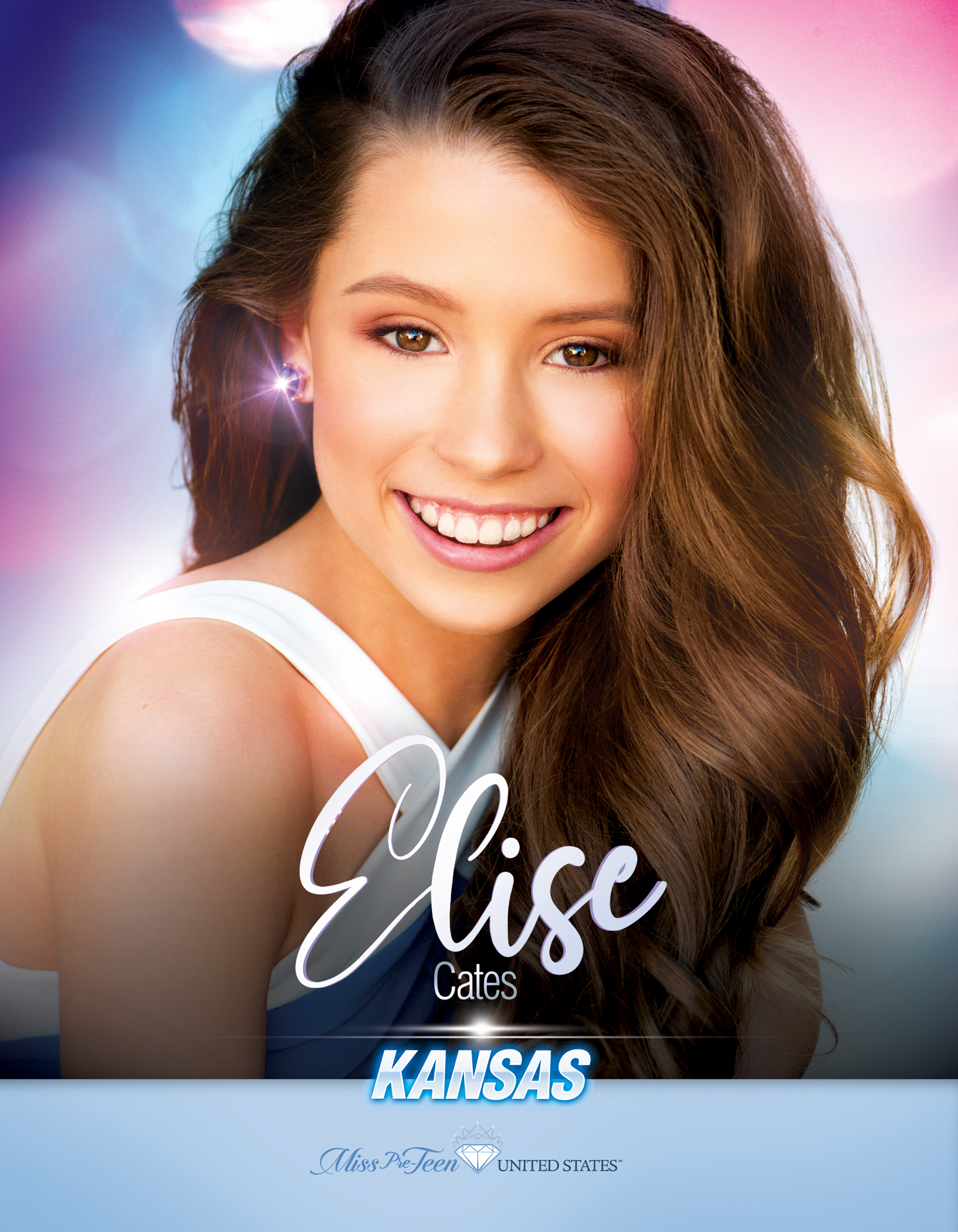 Elise Cates Miss Pre-Teen Kansas United States - 2019