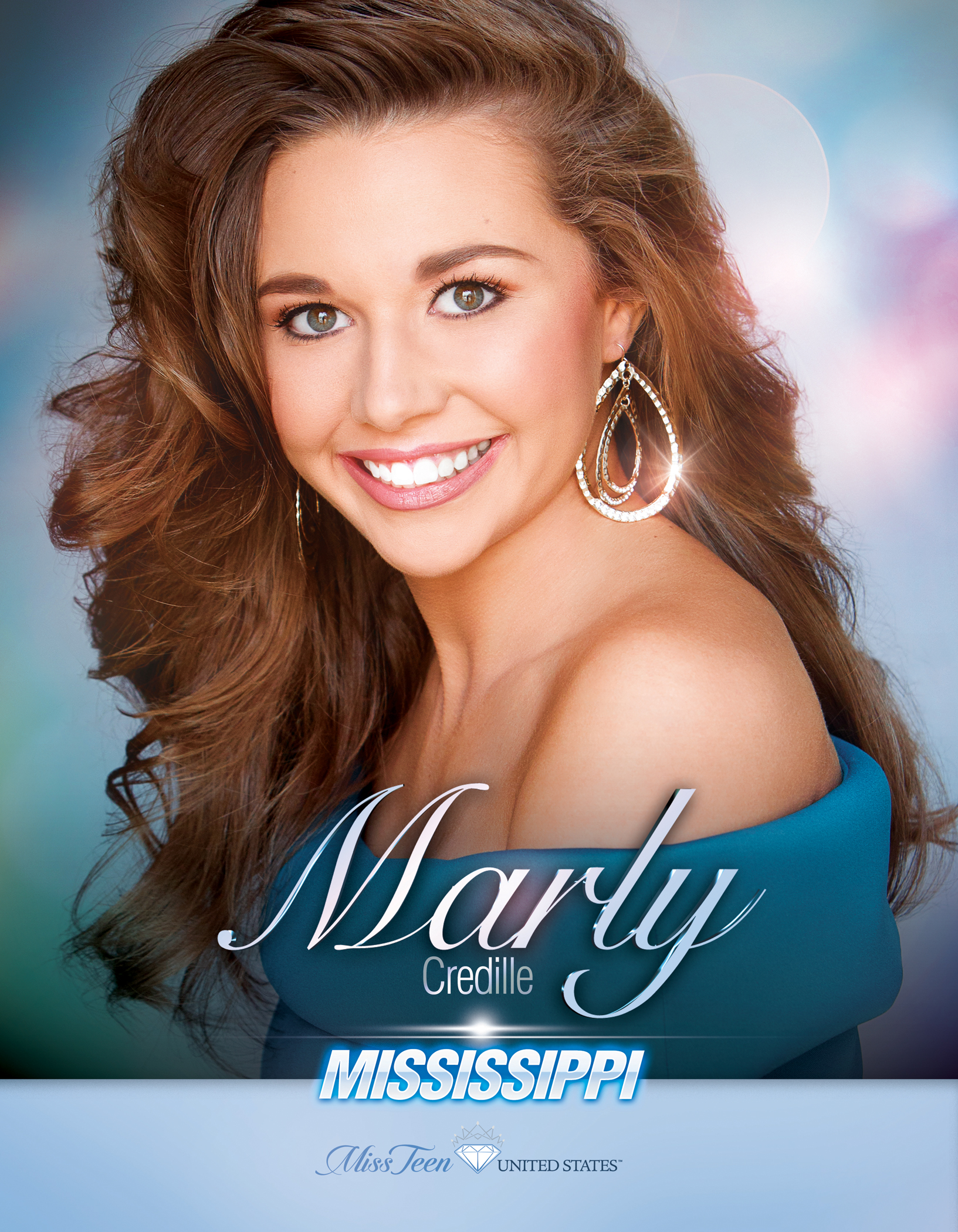 Marly Credille Miss Teen Mississippi United States - 2019