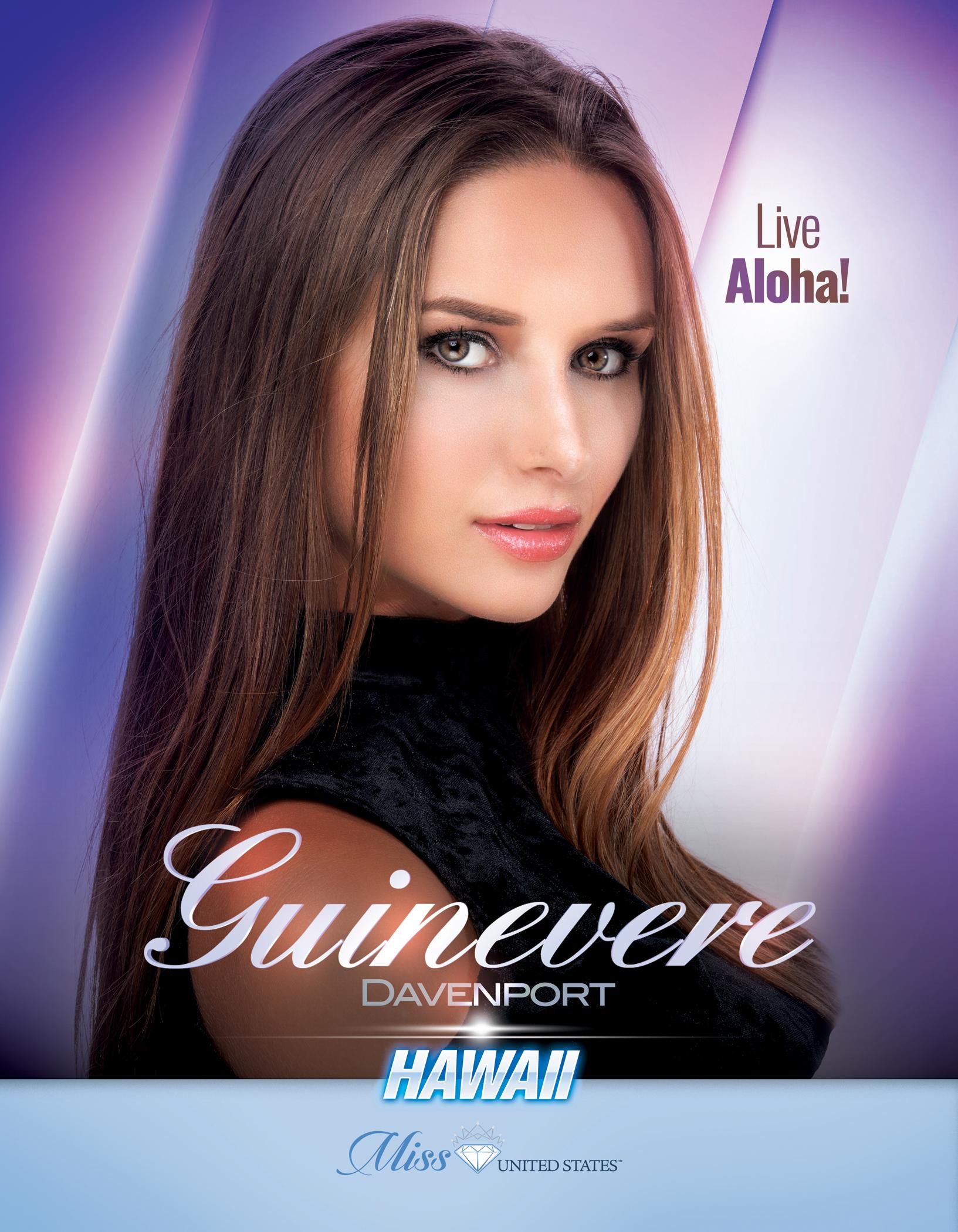 Guinevere Davenport Miss Hawaii United States - 2019
