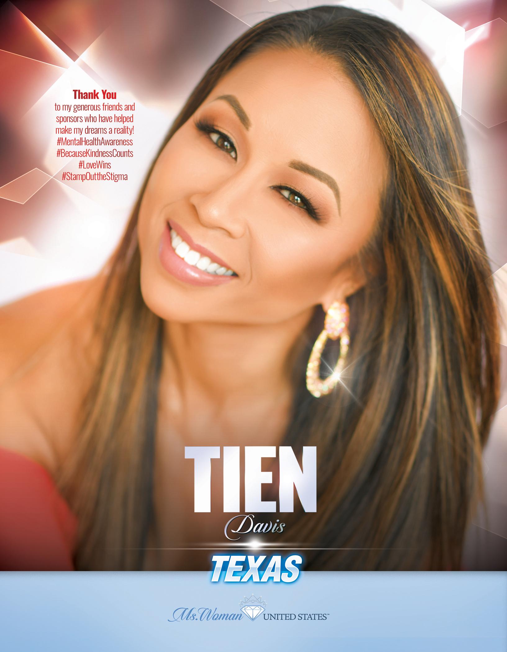 Tien Davis Ms. Woman Texas United States - 2019