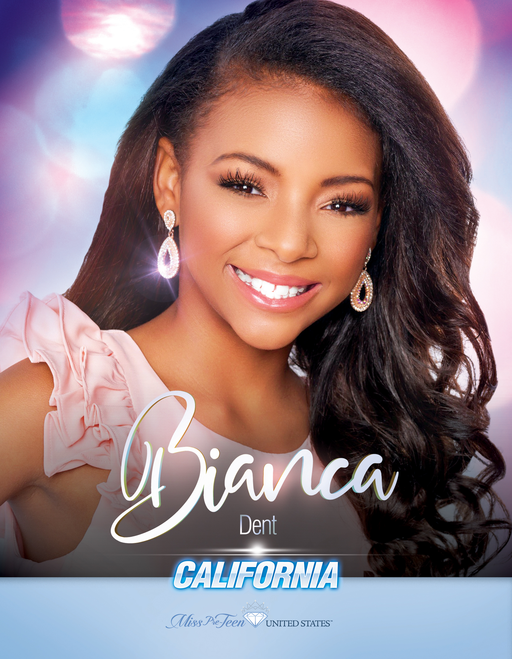 Bianca Dent Miss Pre-Teen California United States - 2019