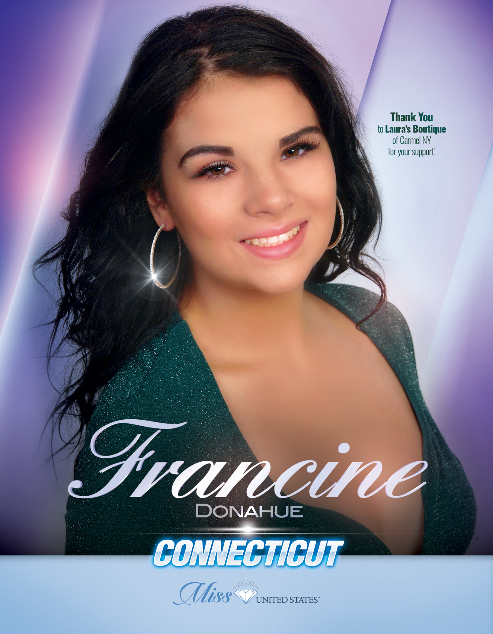Francine Donahue Miss Connecticut United States - 2019