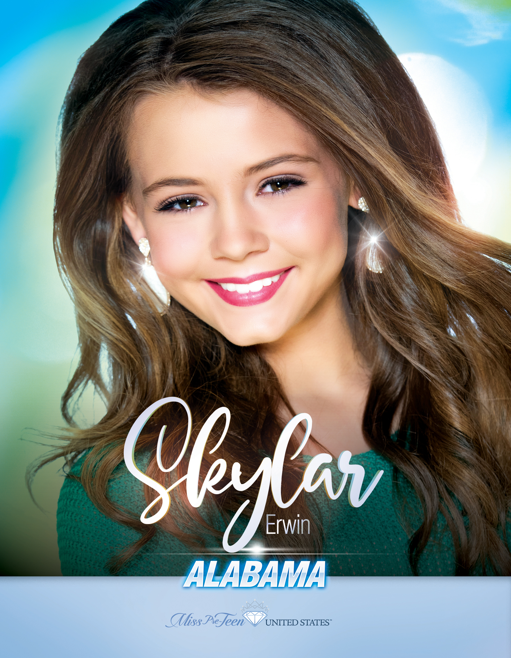 Skylar Erwin Miss Pre-Teen Alabama United States - 2019