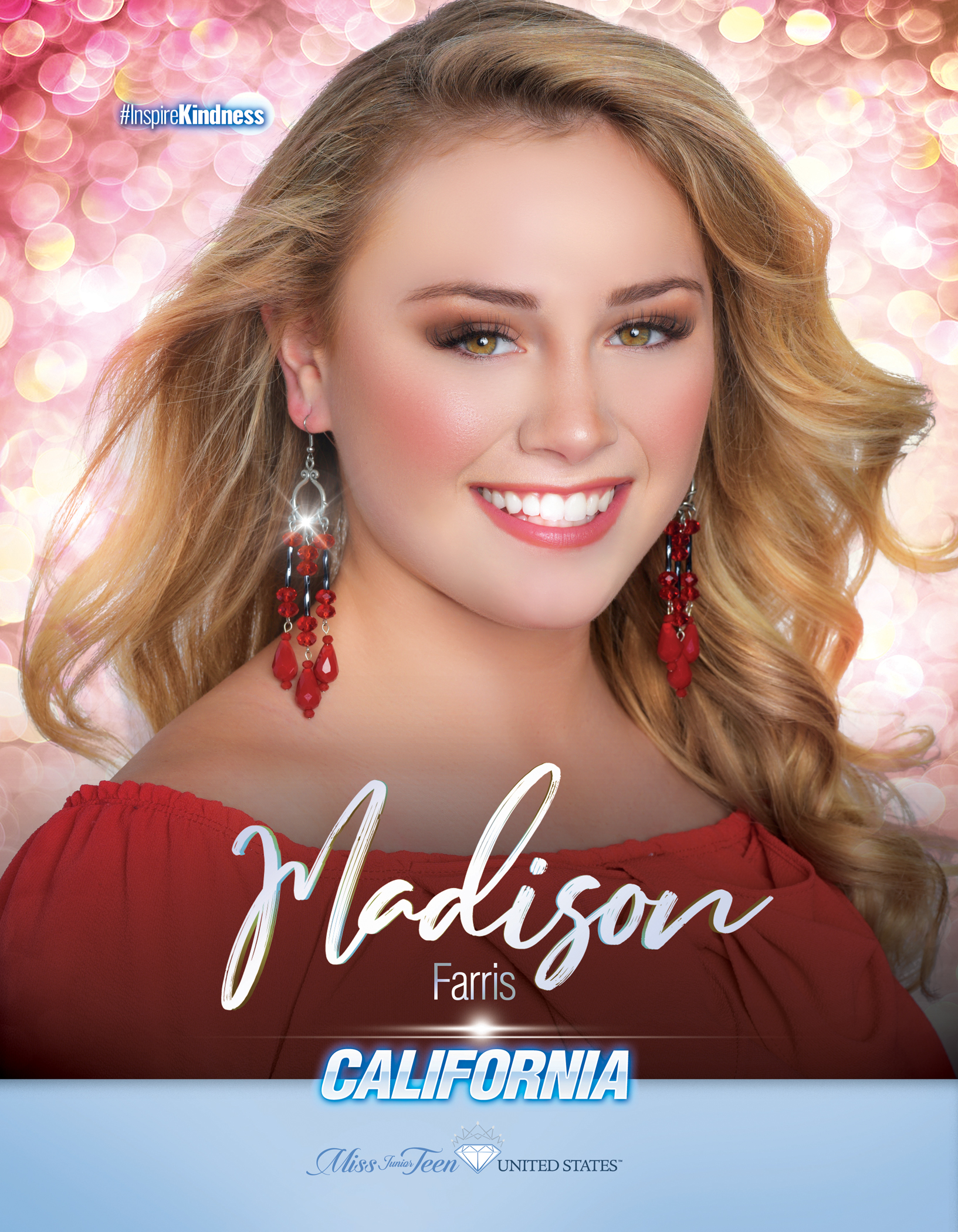 Madison Farris Miss Junior Teen California United States - 2019