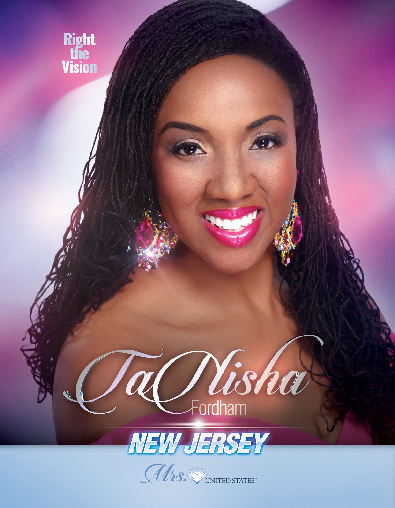 TaNisha Fordham Mrs. New Jersey United States - 2019
