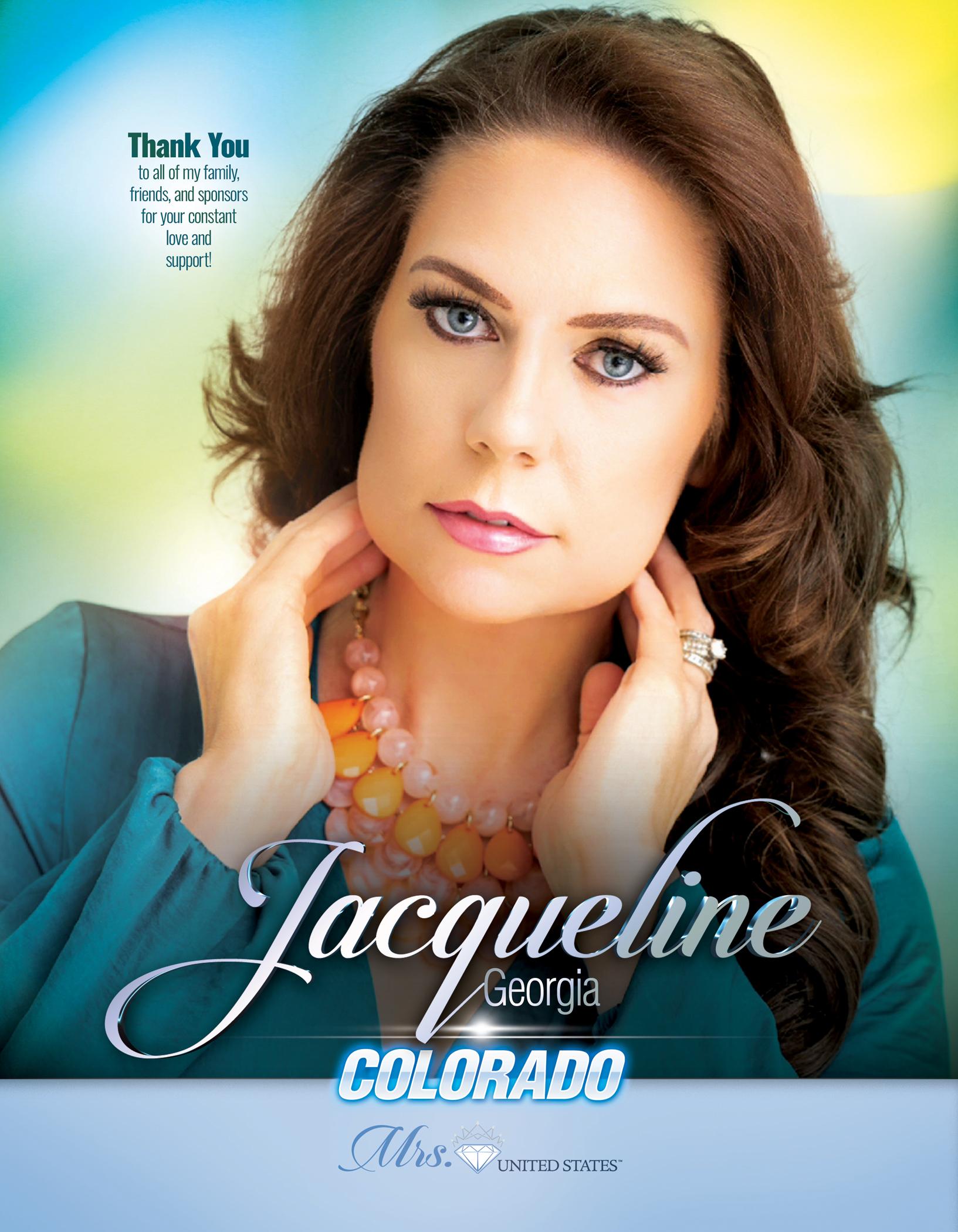 Jacqueline Georgia Mrs. Colorado United States - 2019