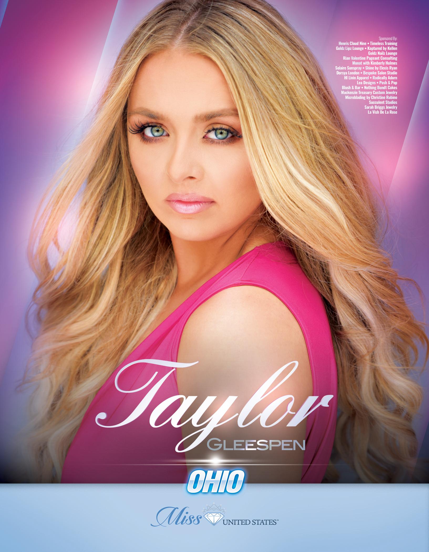 Taylor Gleespen Miss Ohio United States - 2019