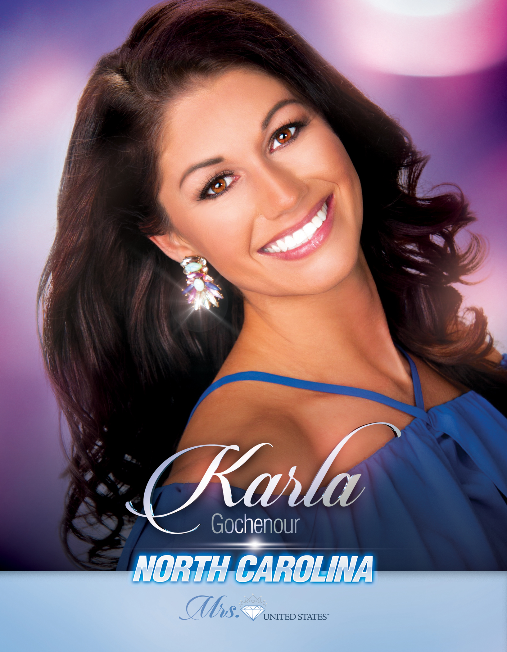 Karla Gochenour Mrs. North Carolina United States - 2019