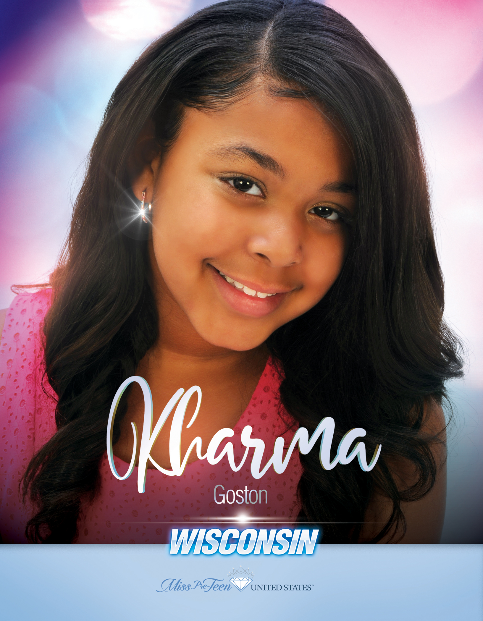 Kharma Goston Miss Pre-Teen Wisconsin United States - 2019