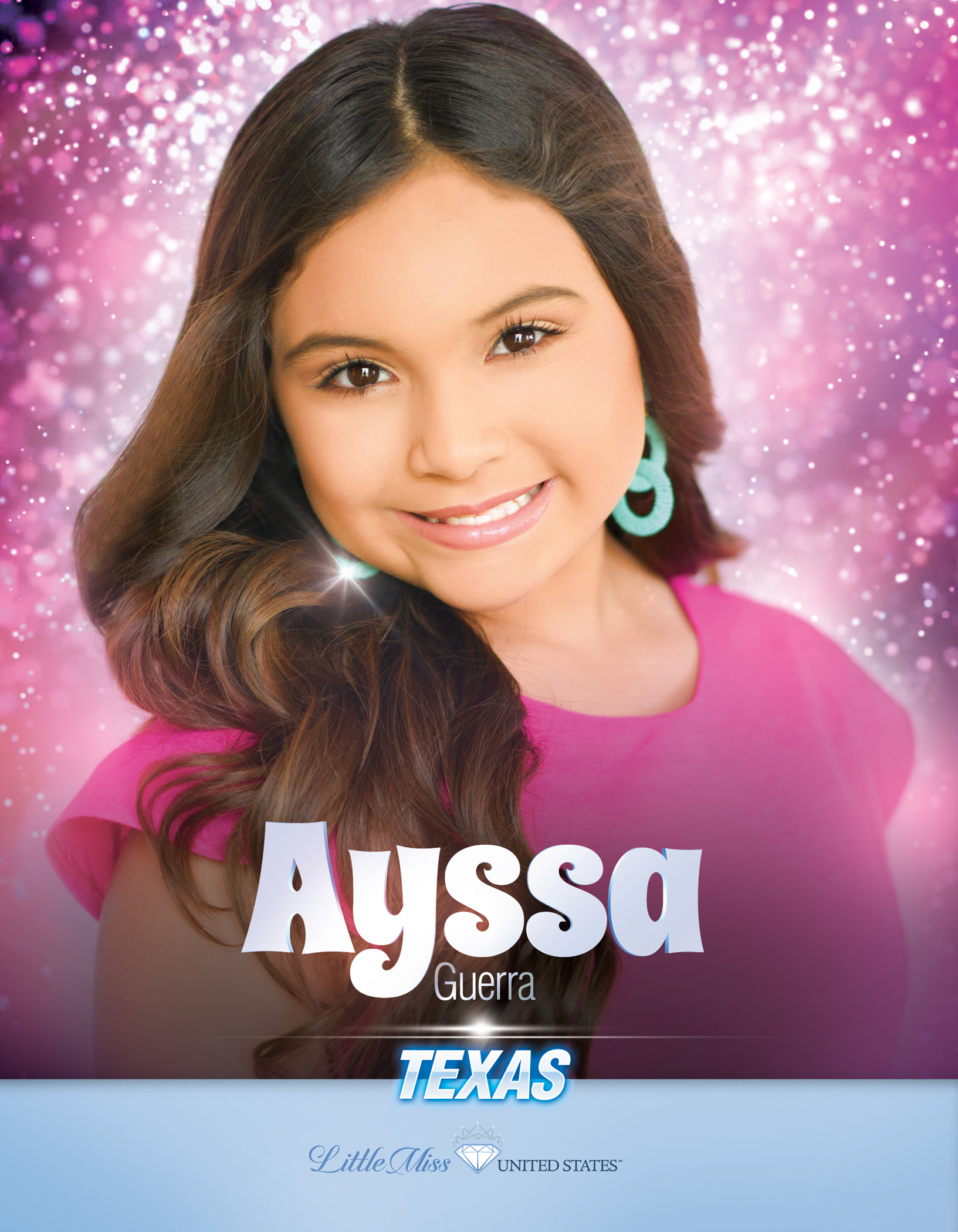 Ayssa Guerra Little Miss Texas United States - 2019