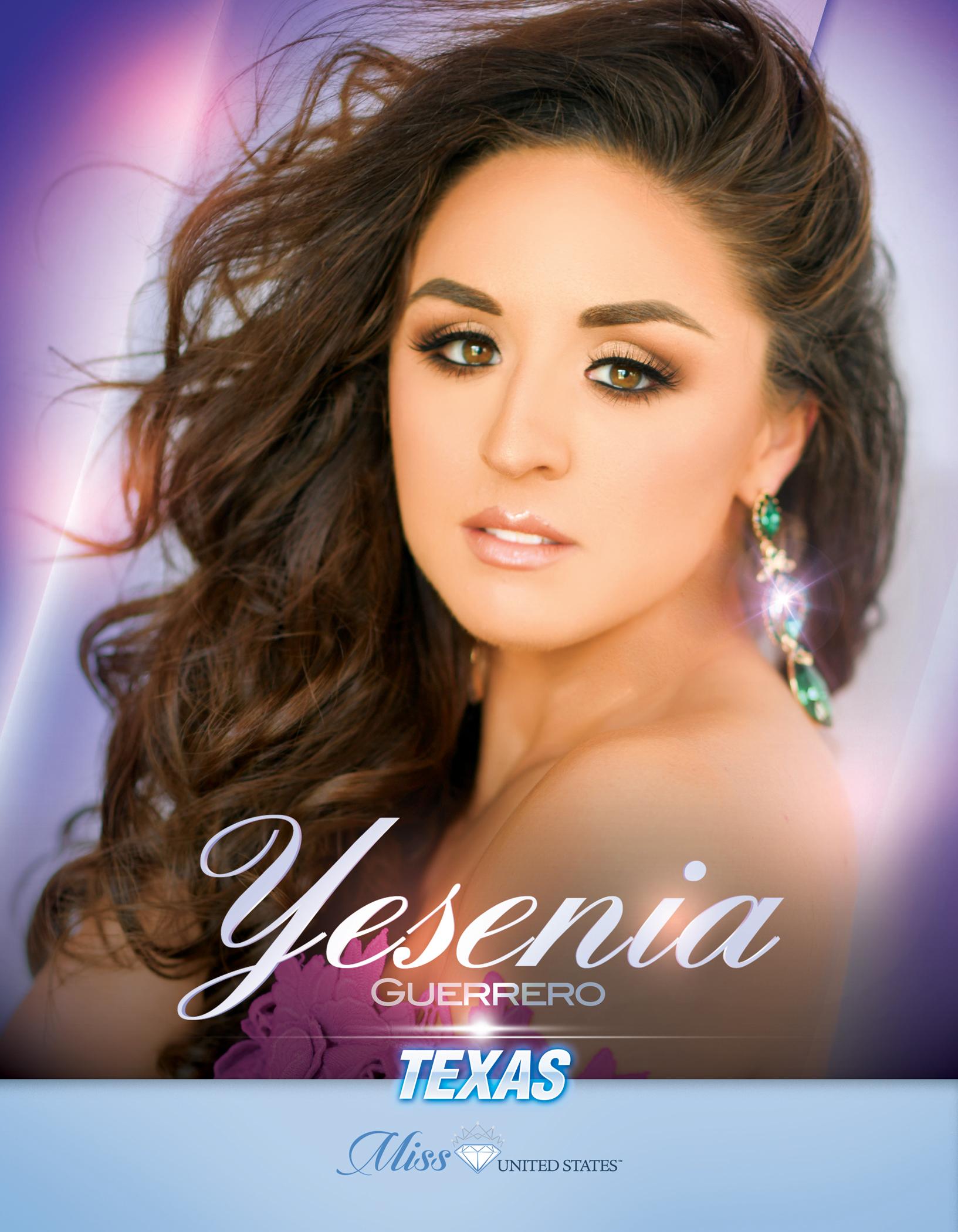 Yesenia Guerrero Miss Texas United States - 2019