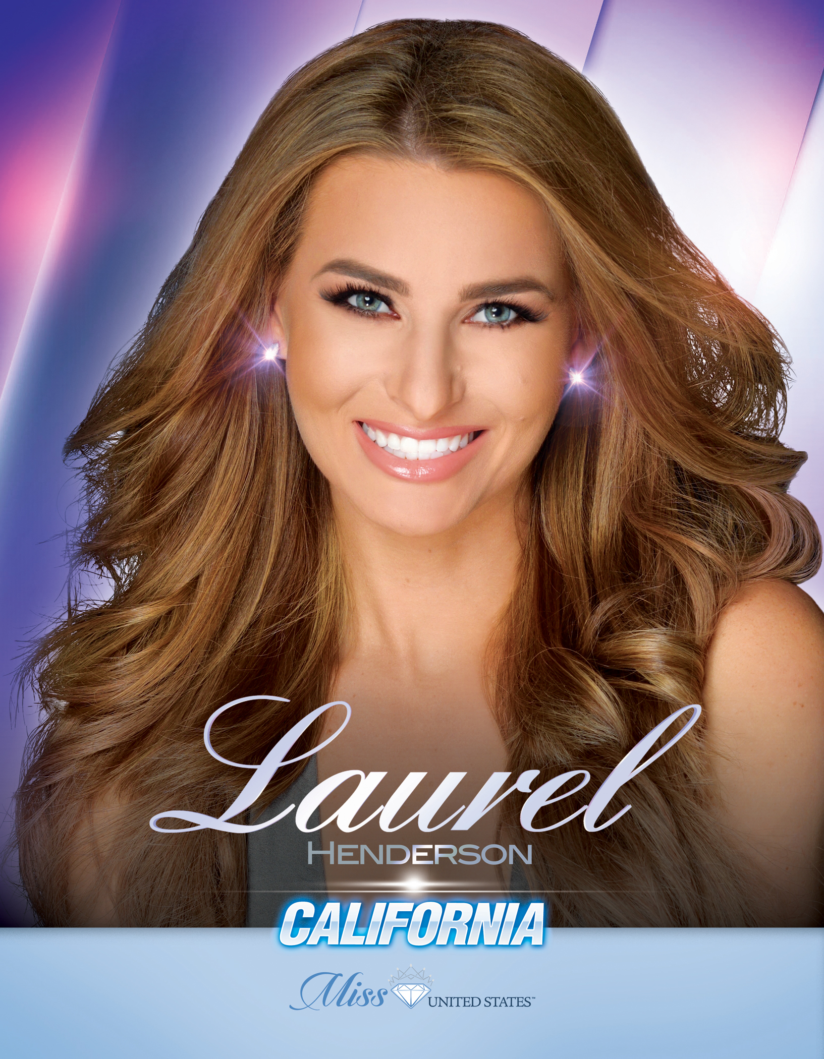 Laurel Henderson Miss California United States - 2019