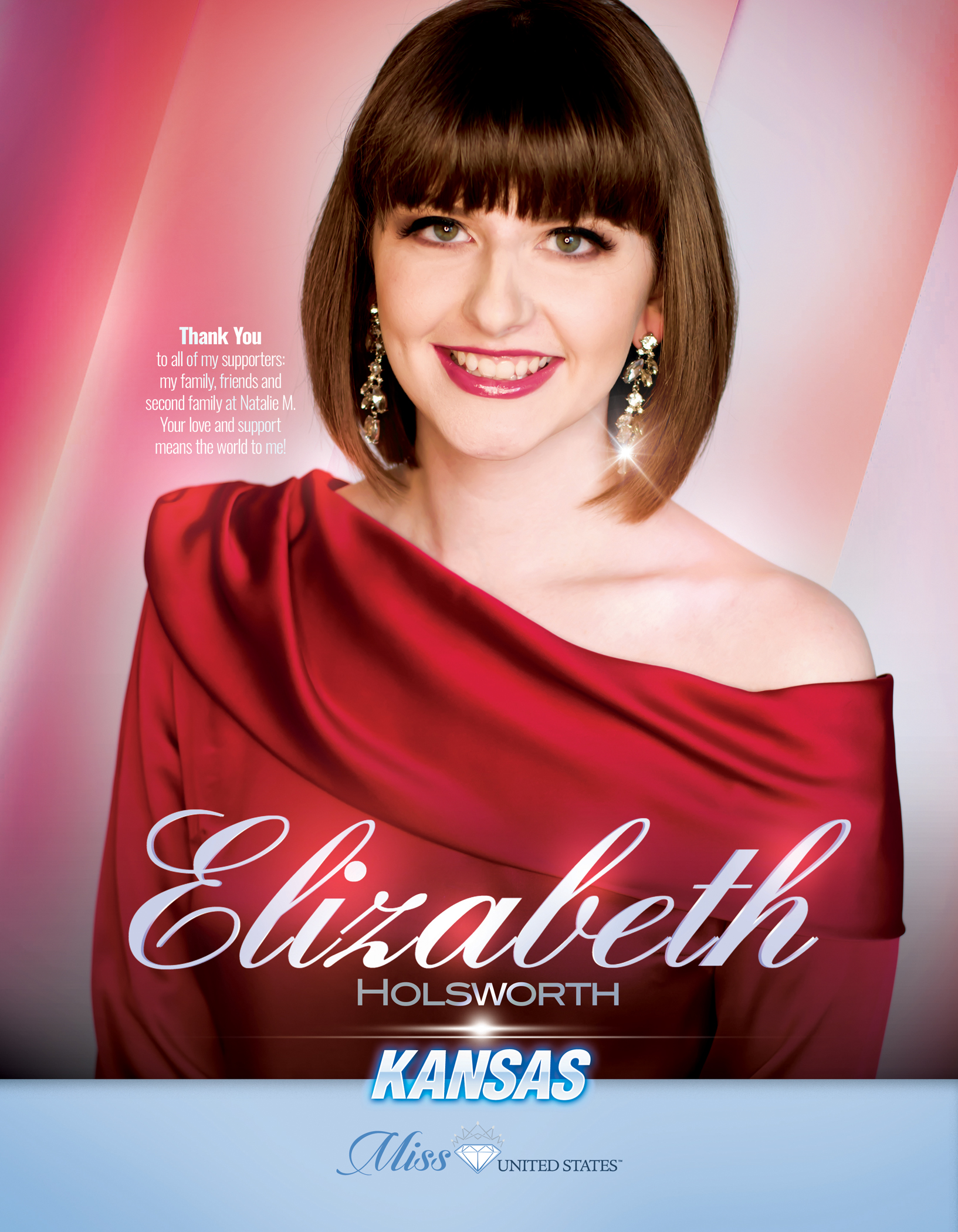 Elizabeth Holsworth Miss Kansas United States - 2019