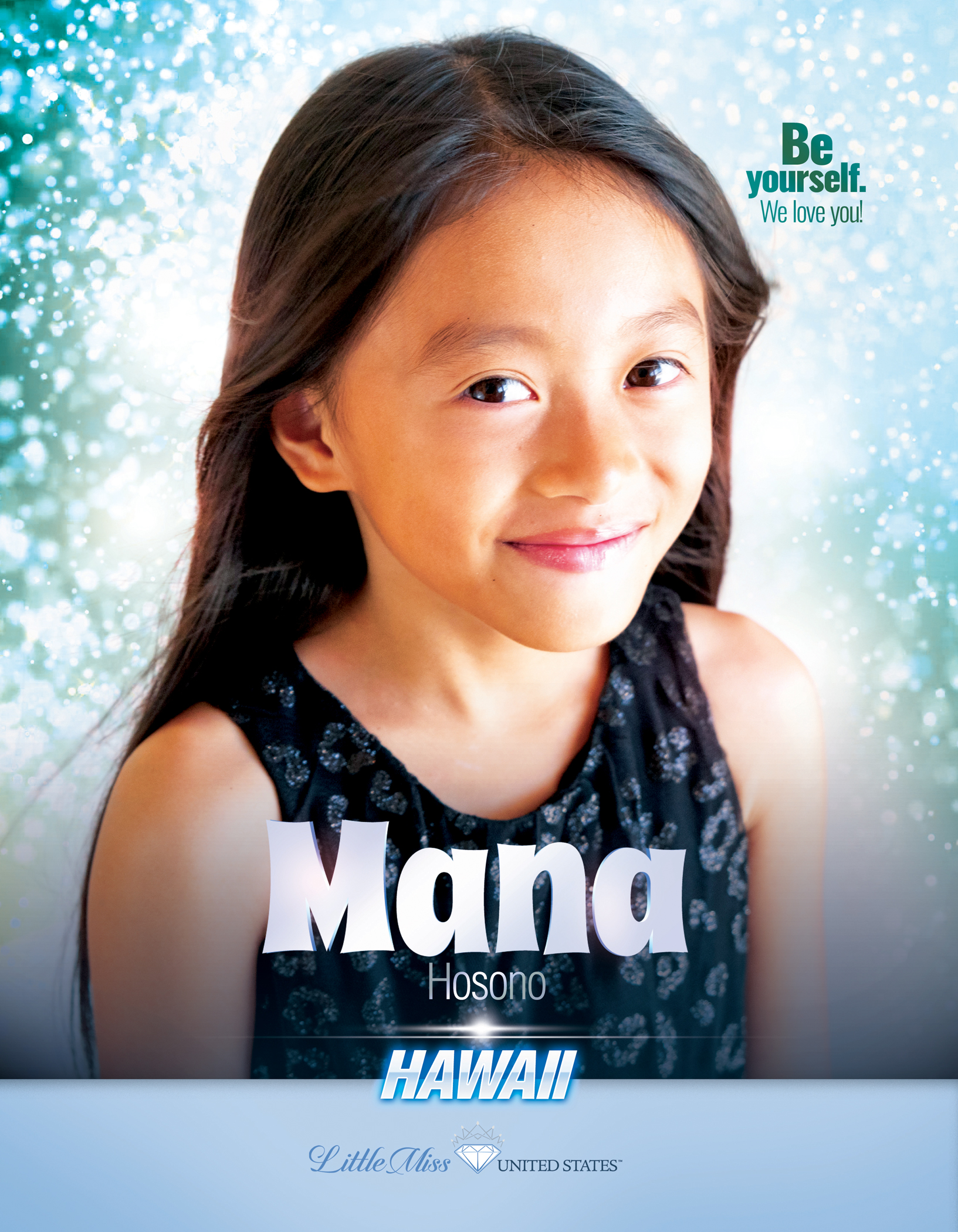 Mana Hosono Little Miss Hawaii United States - 2019